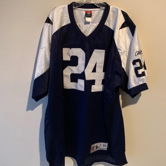 info for b181c a6dfb Vtg NFL Cowboys Marion Barber #24 Jersey Reebok